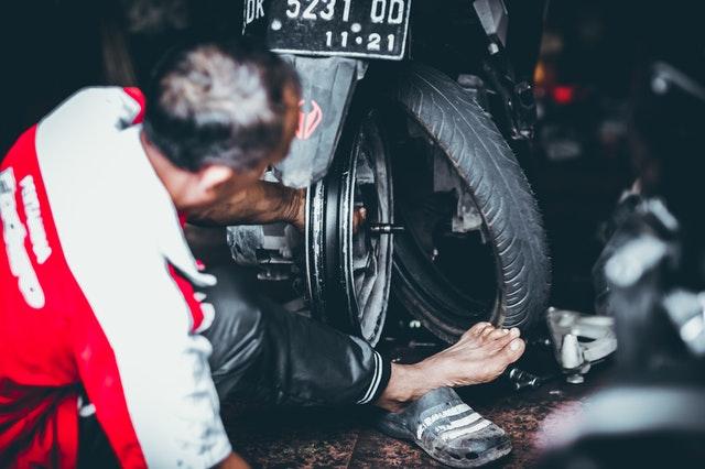 vymieňanie pneumatík