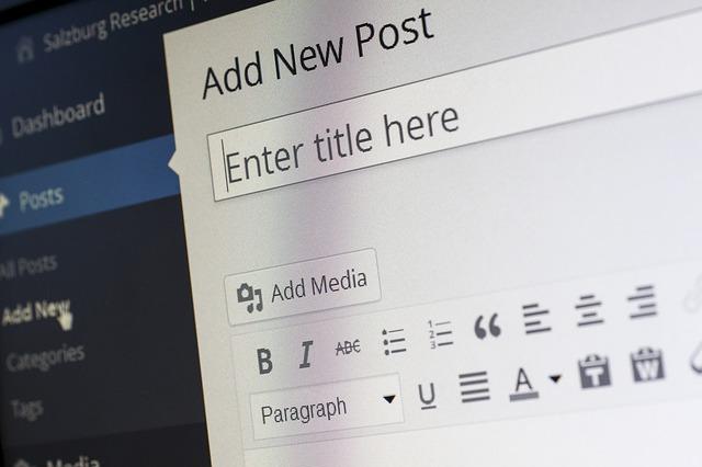 Wordpress písanie